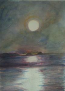 Peaceful Moon